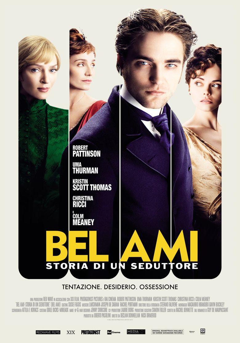 Bel Ami (2012 film) movie poster