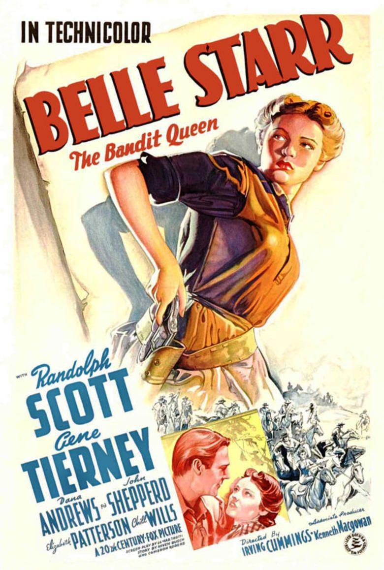 Belle Starr (film) movie poster