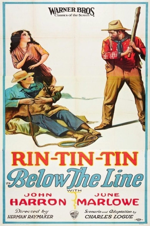 Below the Line (1925 film) movie poster