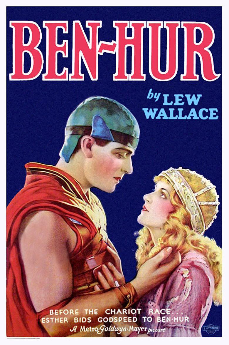 Ben Hur (1925 film) movie poster