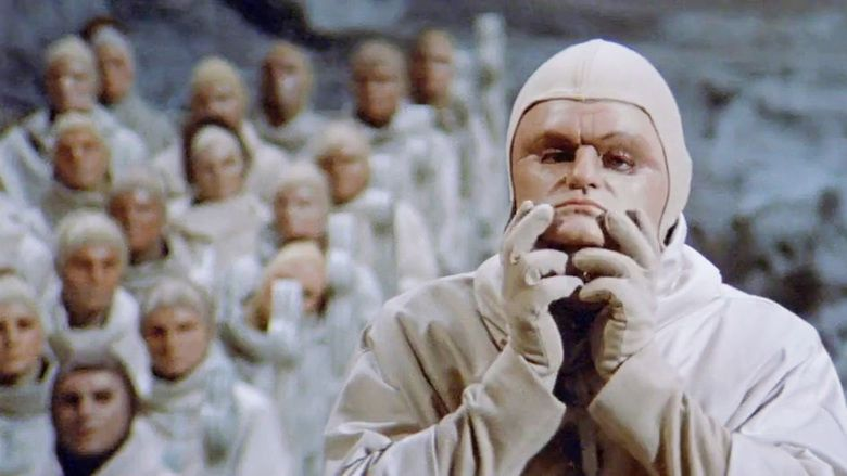 Beneath the Planet of the Apes movie scenes