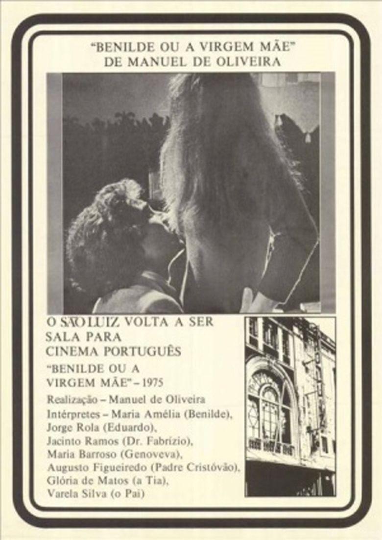 Benilde or the Virgin Mother movie poster