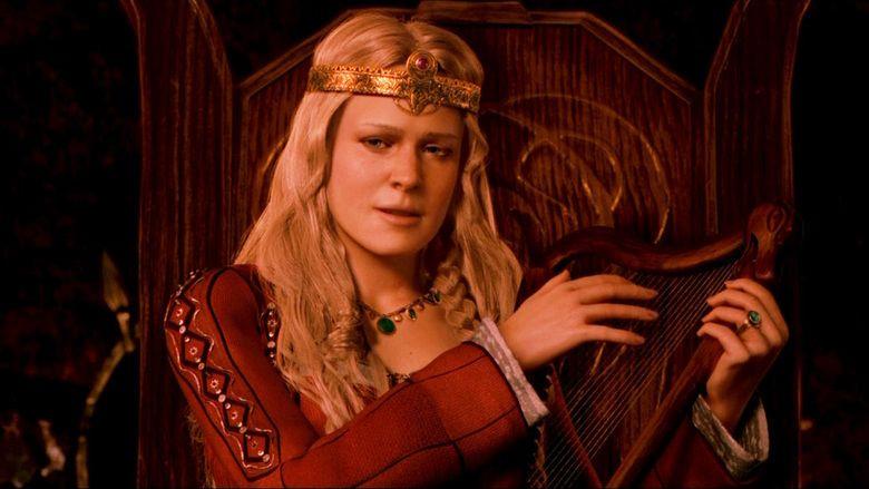 kuss angelina jolie beowulf szene