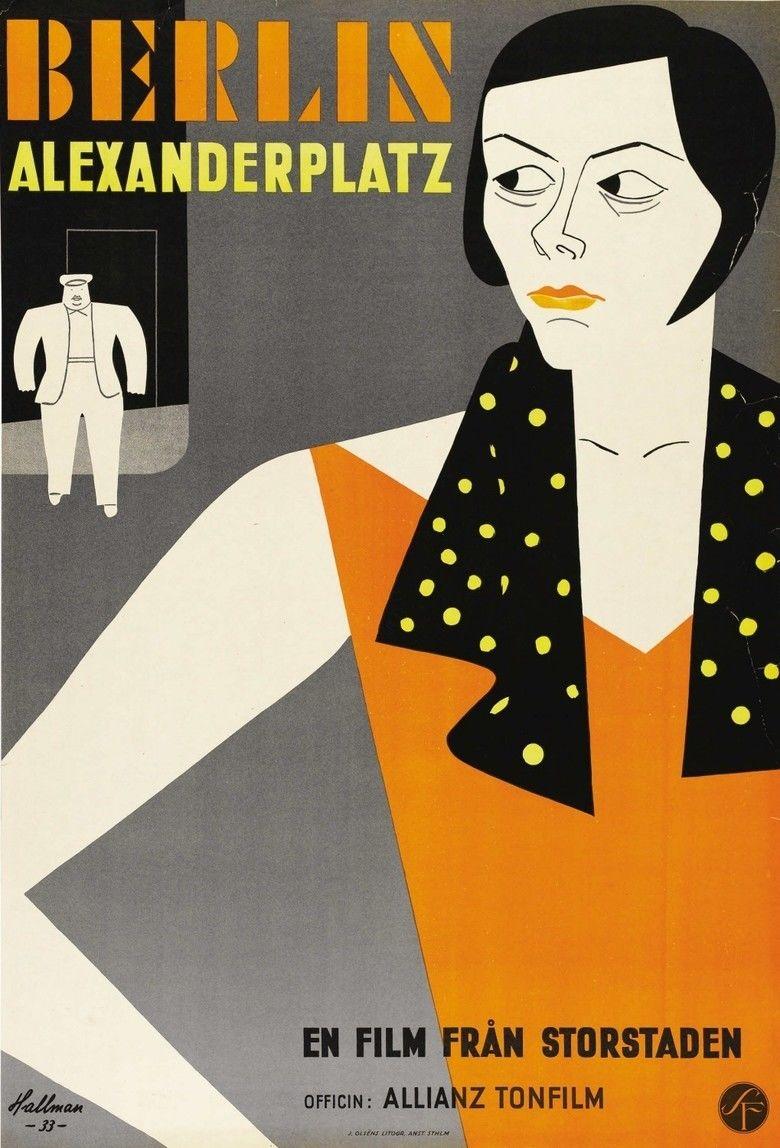 Berlin Alexanderplatz (1931 film) movie poster