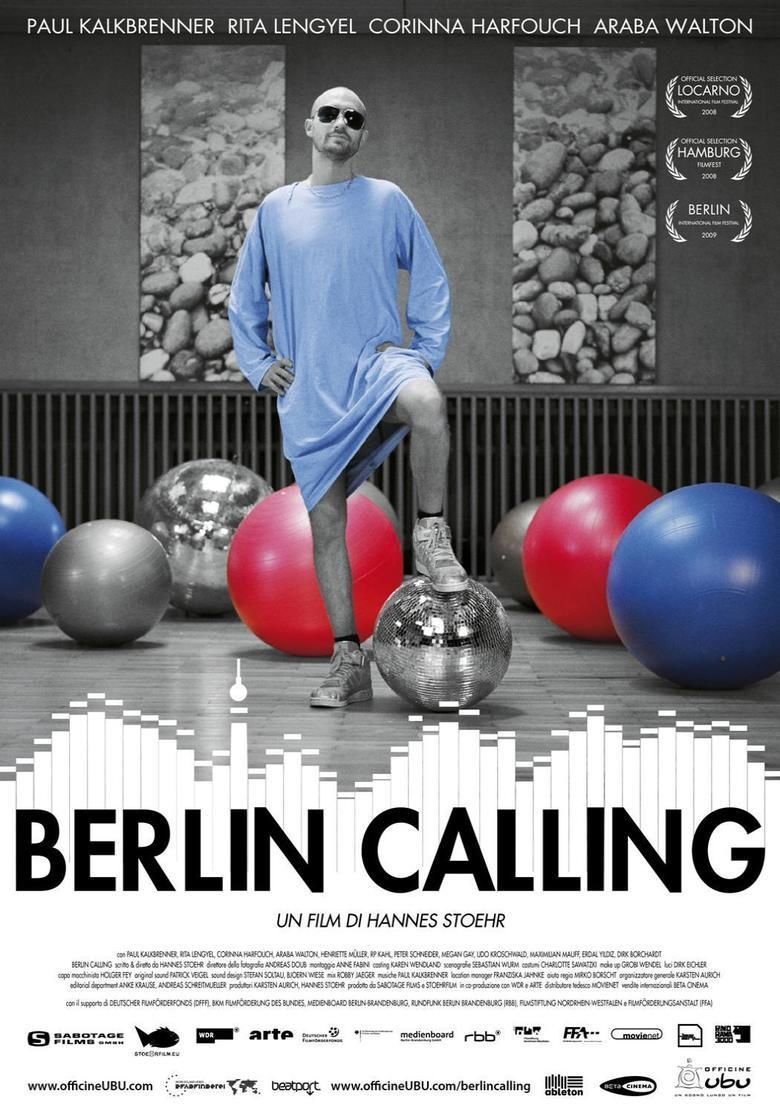 Berlin Calling movie poster