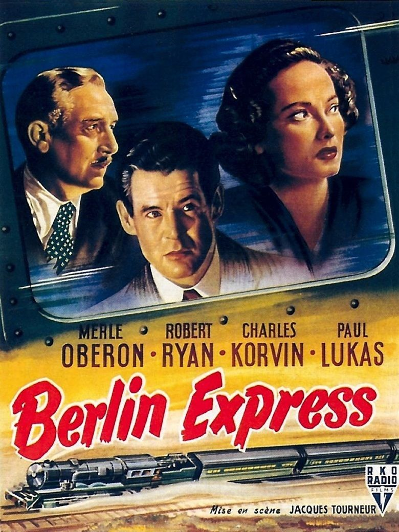 Berlin Express movie poster