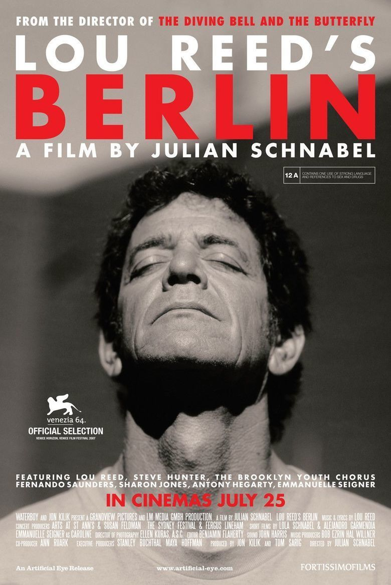Berlin: Live at St Anns Warehouse movie poster