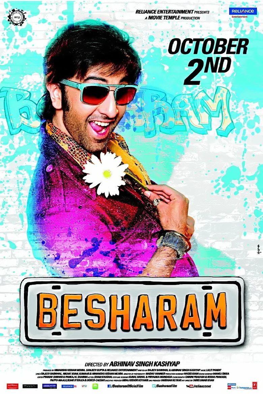 Besharam (2013 film) movie poster