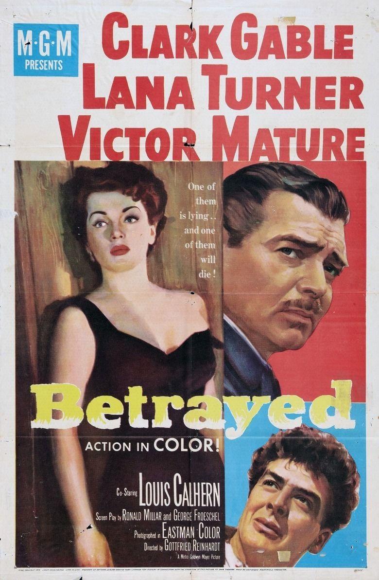 Betrayed (1988 film) movie poster