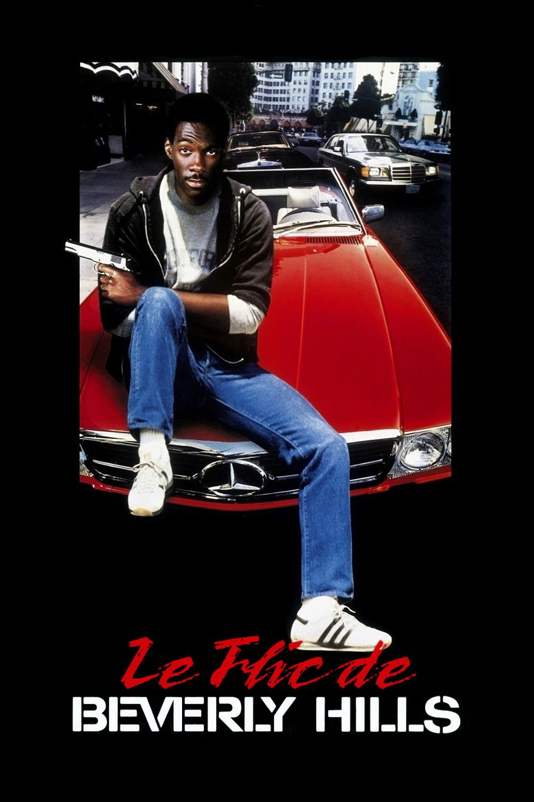 Beverly Hills Cop (franchise) movie poster