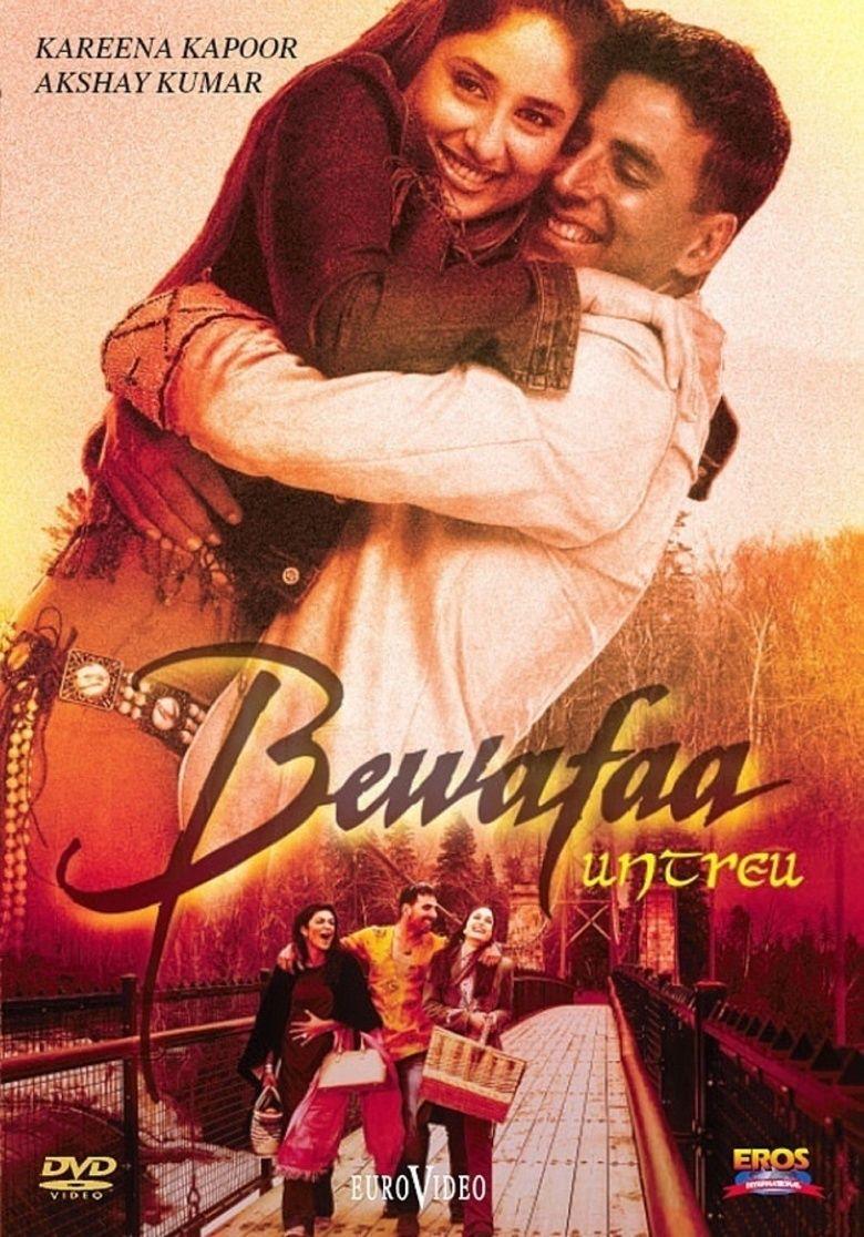 Bewafaa (2005 film) movie poster