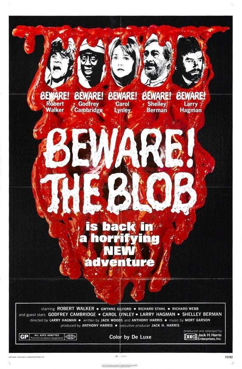 Beware! The Blob movie poster