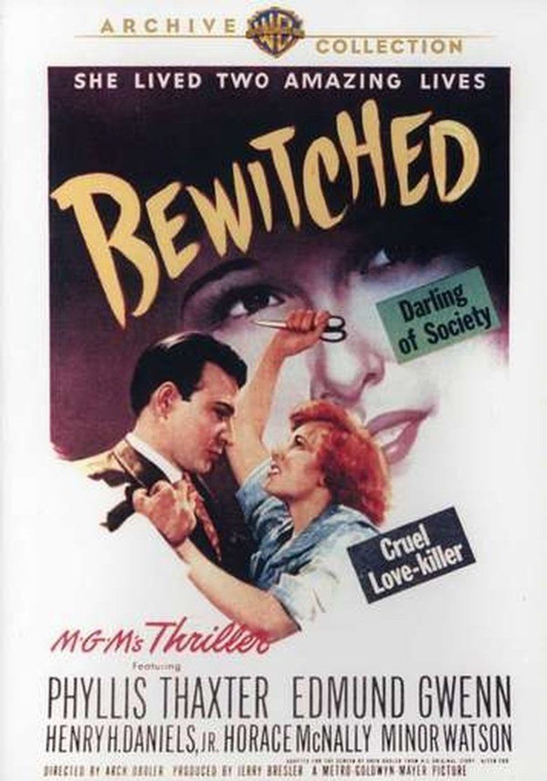 Bewitched (1945 film) movie poster