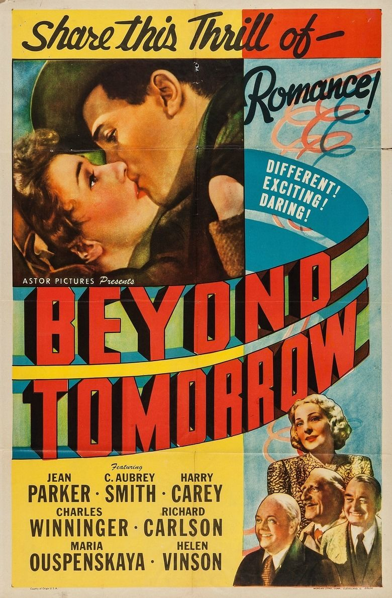 Beyond Tomorrow (film) movie poster