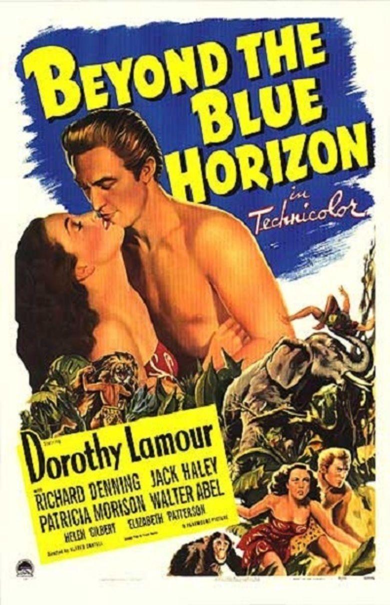 Beyond the Blue Horizon (film) movie poster