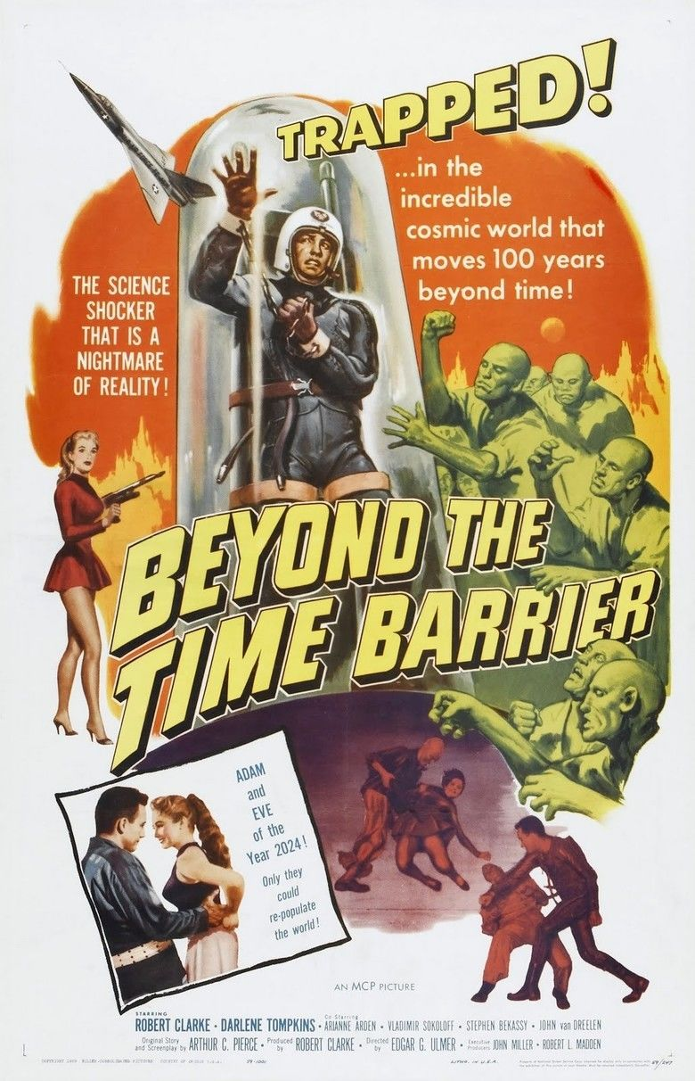Beyond the Time Barrier movie poster