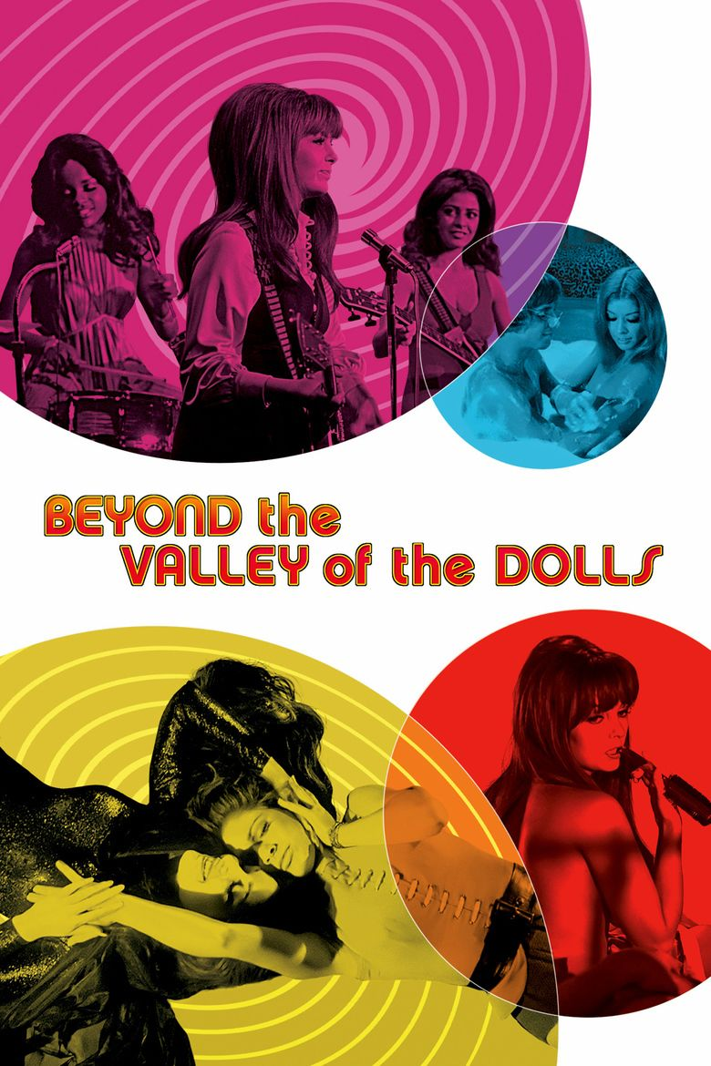 Beyond the Valley of the Dolls movie poster