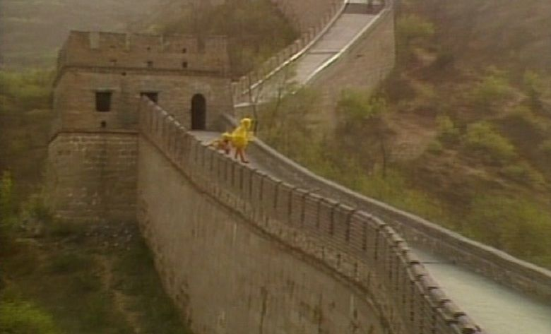 Big Bird in China movie scenes