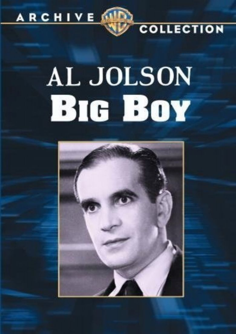 Big Boy (film) movie poster