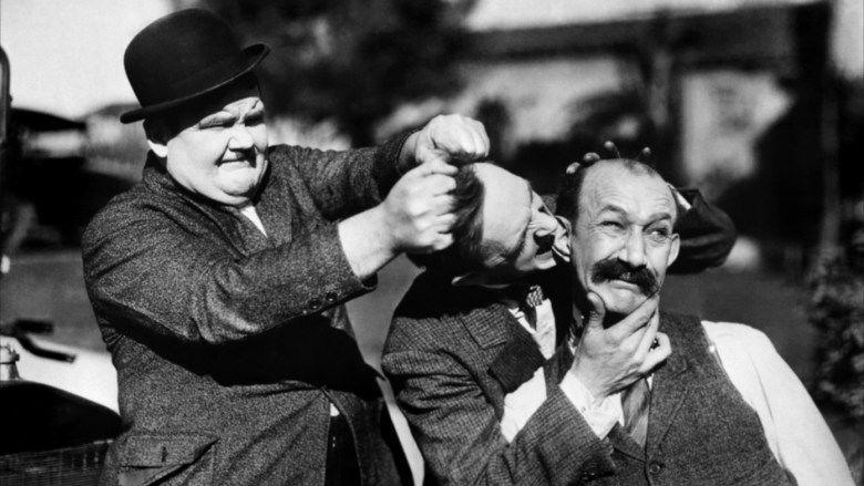 Big Business (1929 film) movie scenes
