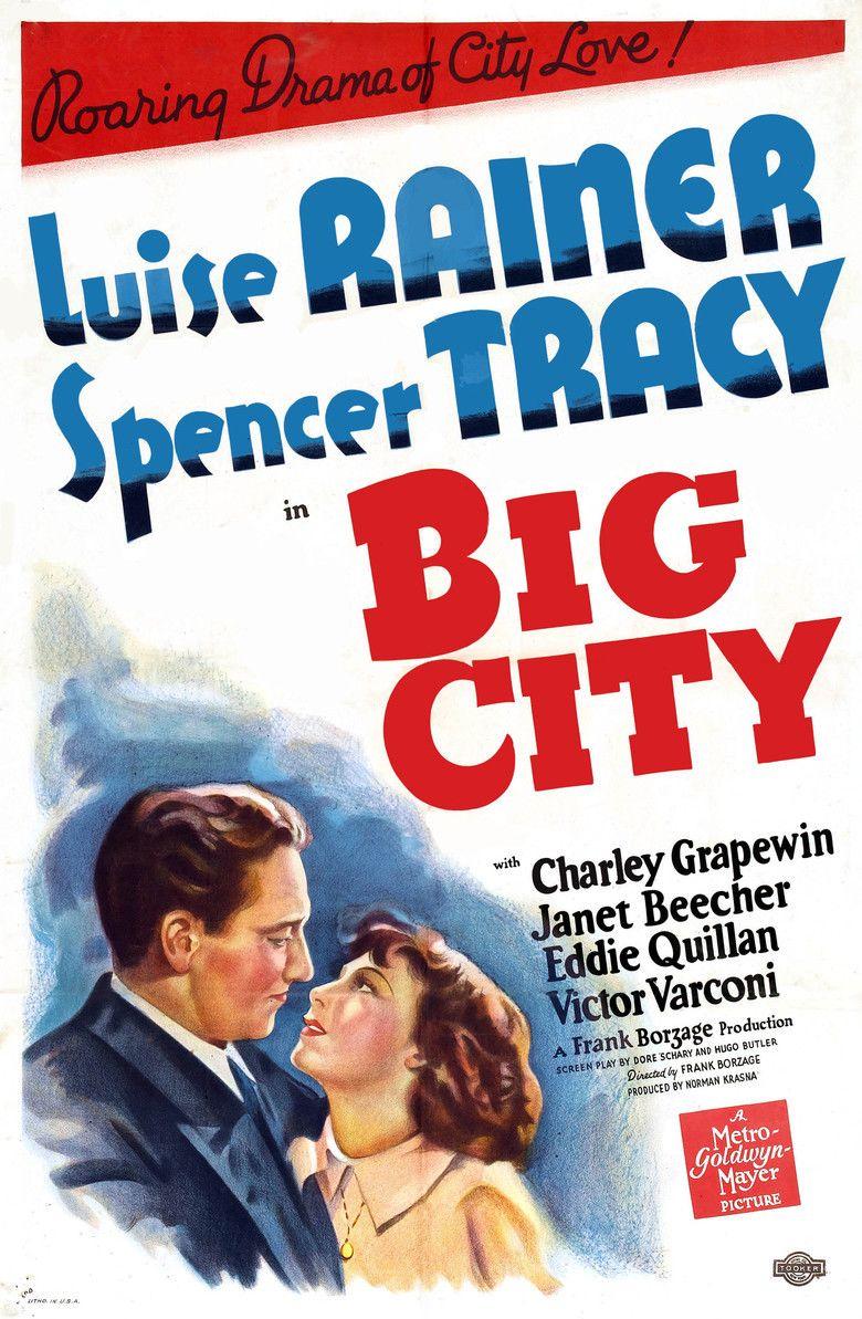 Big City (1937 film) movie poster