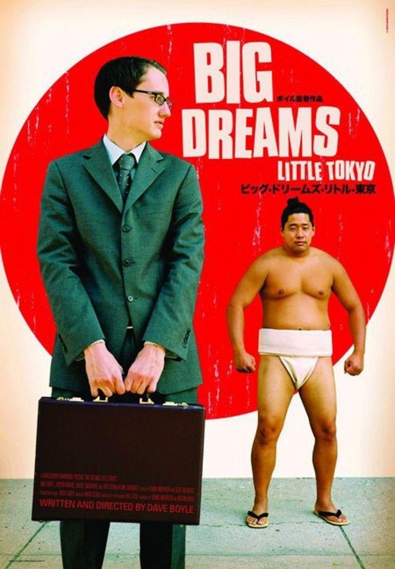 Big Dreams Little Tokyo movie poster