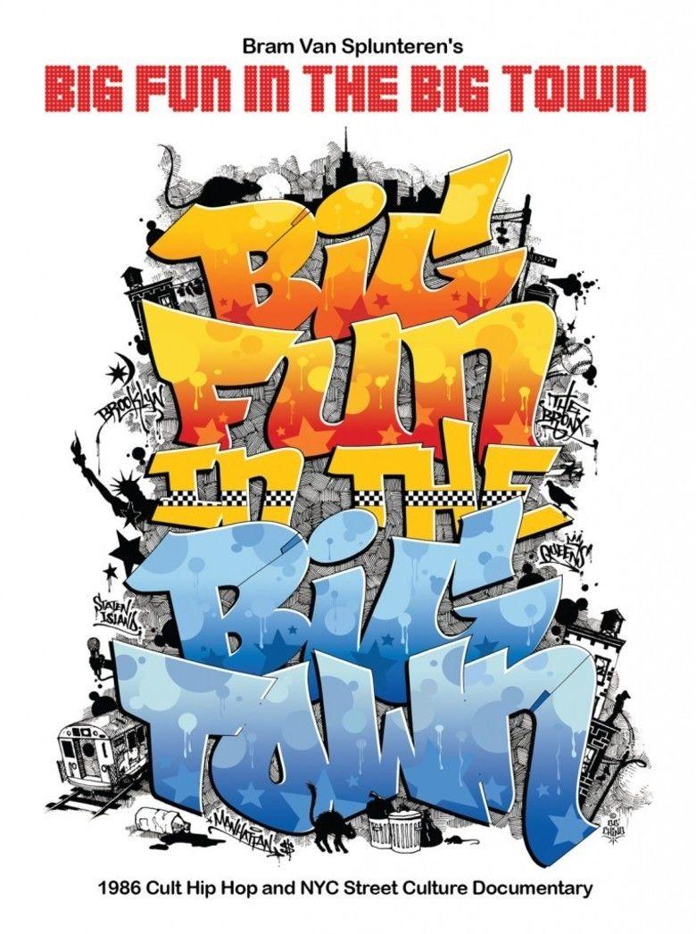 Big Fun In The Big Town movie poster