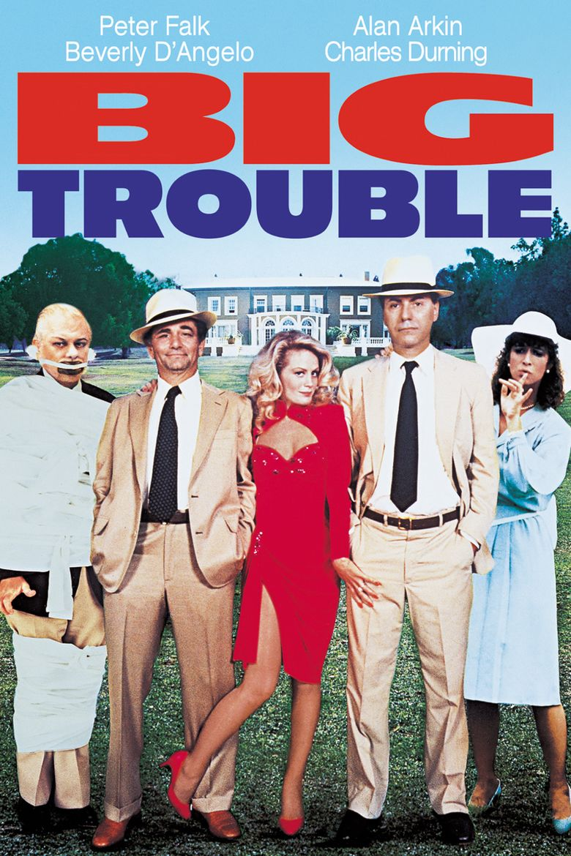 Big Trouble (1986 film) movie poster