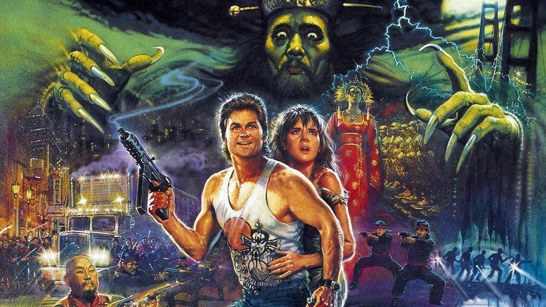 Big Trouble in Little China movie scenes