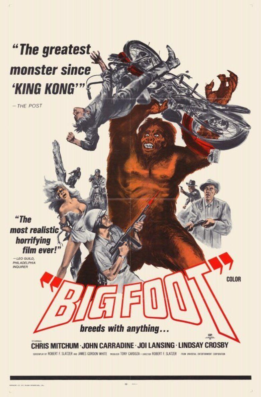 Bigfoot (1970 film) movie poster
