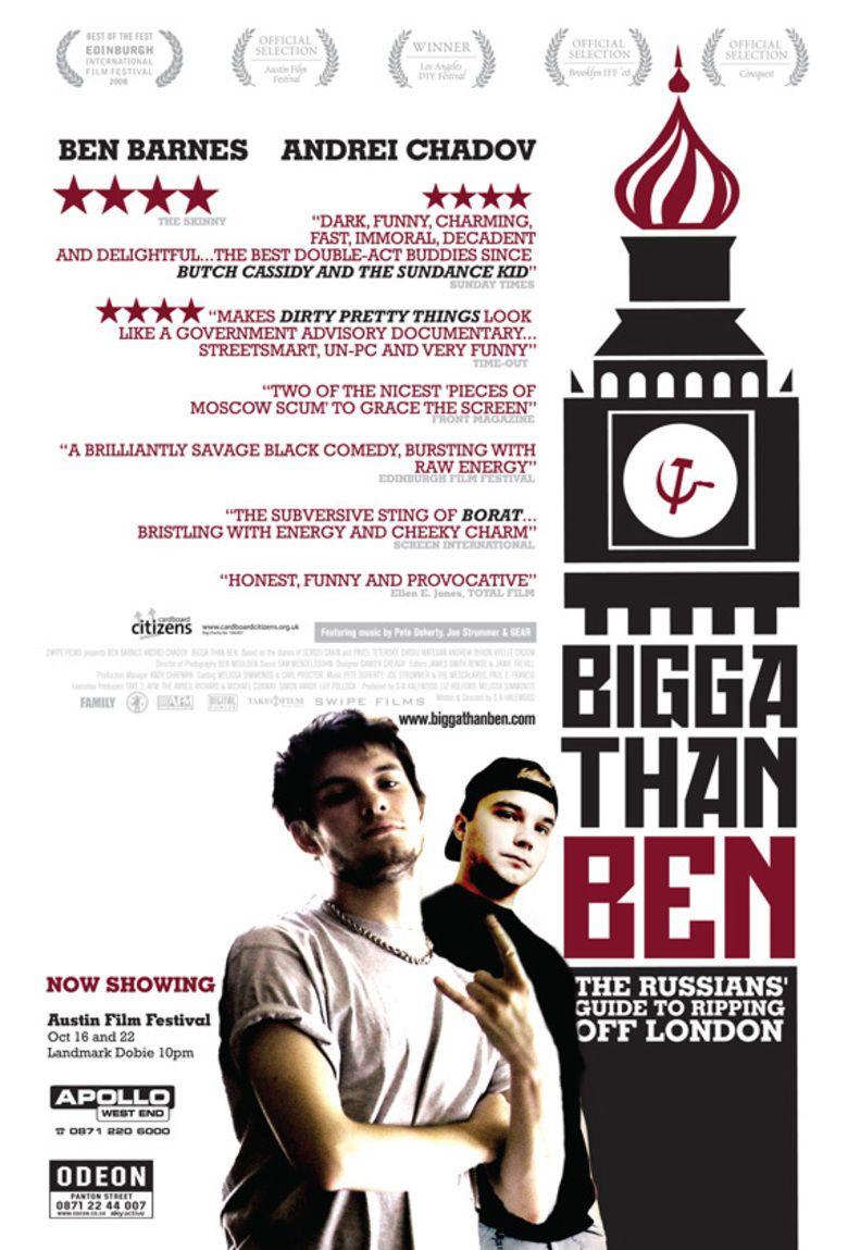 Bigga than Ben movie poster