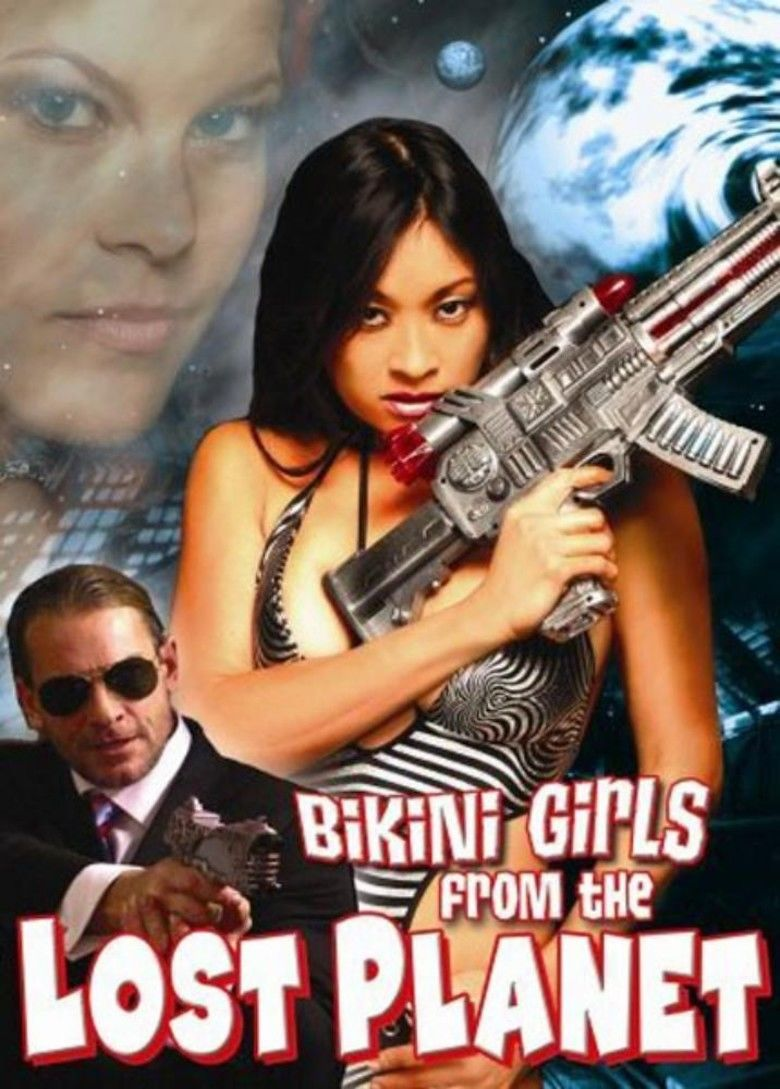 Bikini Girls from the Lost Planet movie poster