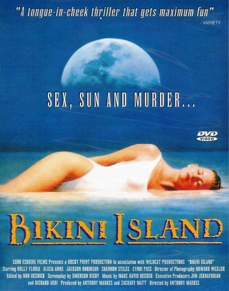 Bikini Island (film) movie poster