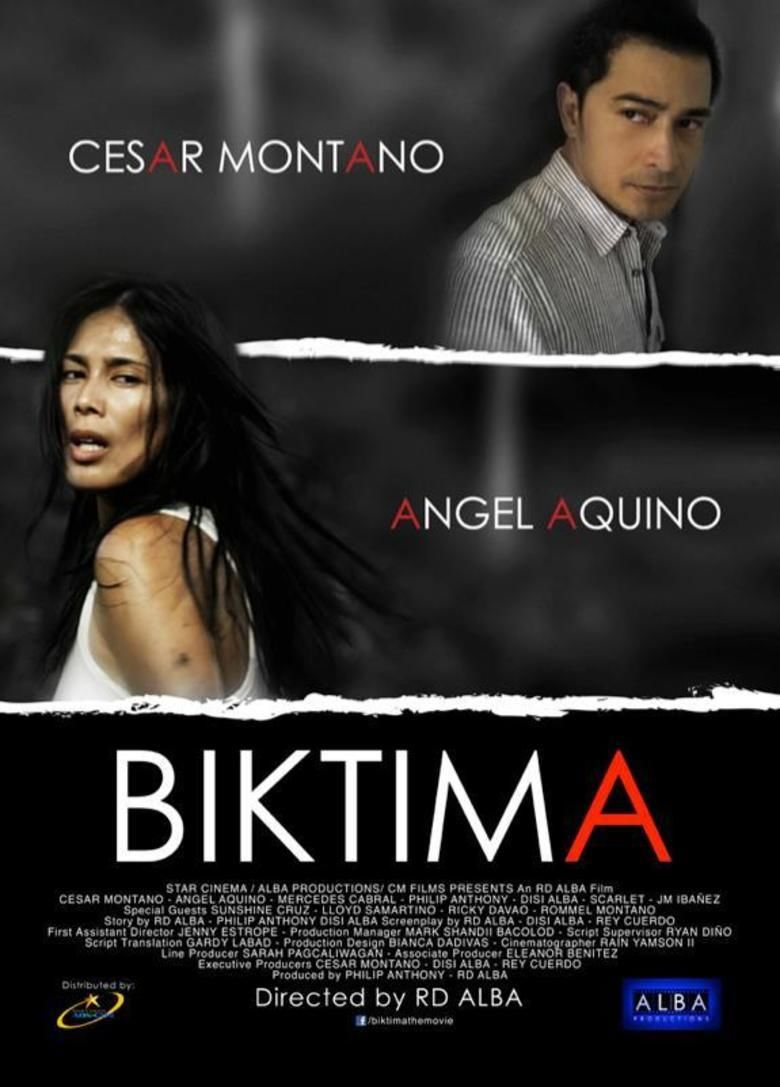 Biktima movie poster