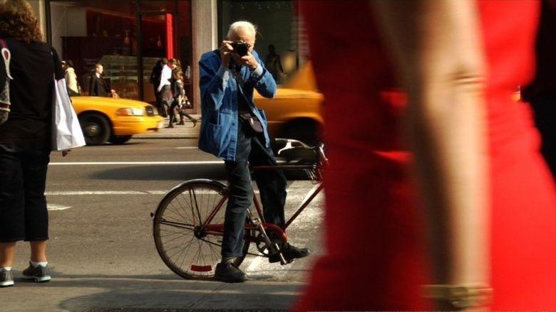 Bill Cunningham New York movie scenes