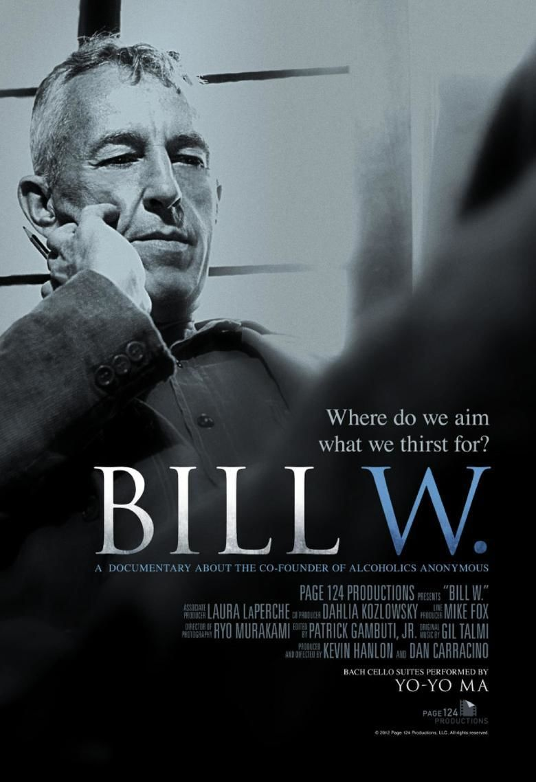 Bill W (film) movie poster