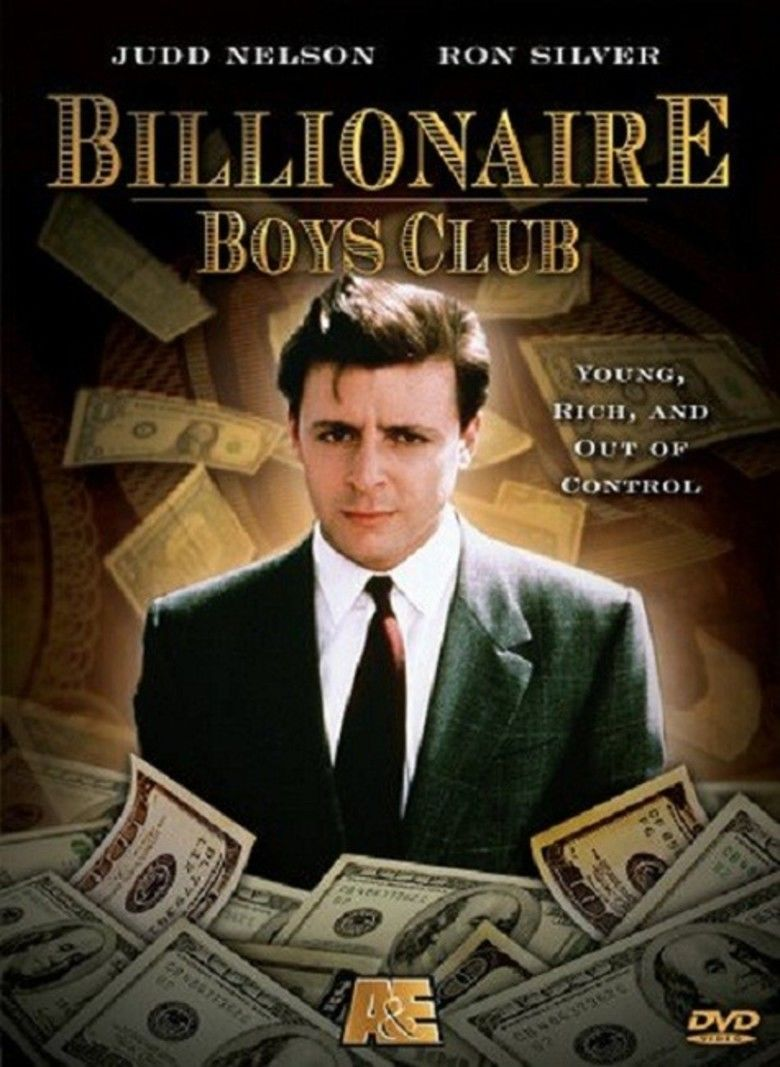 Billionaire Boys Club (film) movie poster
