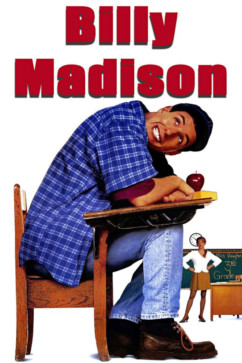 Billy Madison movie poster