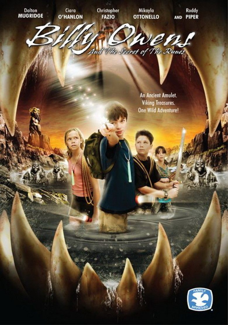 Billy Owens and the Secret of the Runes movie poster