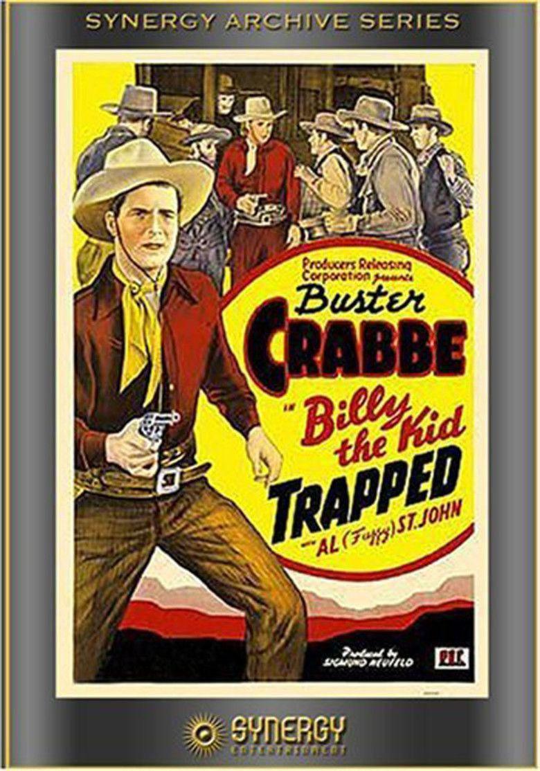 Billy the Kid Trapped movie poster