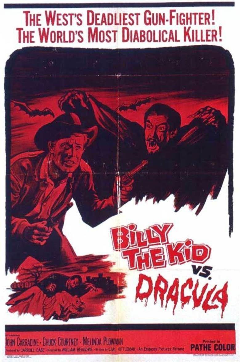 Billy the Kid Versus Dracula movie poster