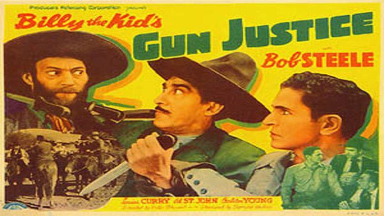 Billy the Kids Gun Justice movie scenes