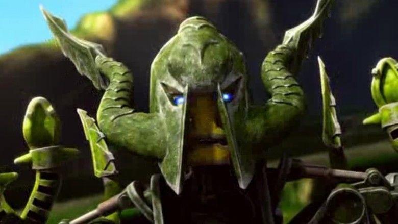 Bionicle: The Legend Reborn movie scenes