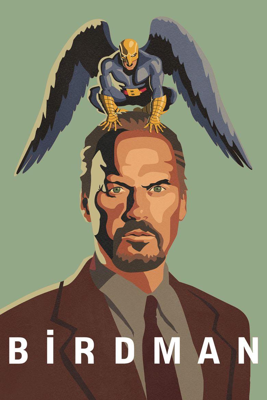 Birdman (film) movie poster