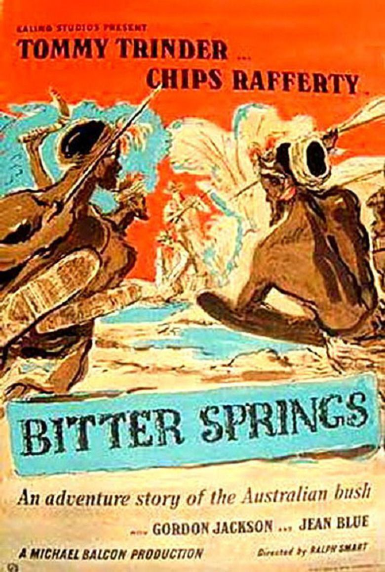 Bitter Springs (film) movie poster
