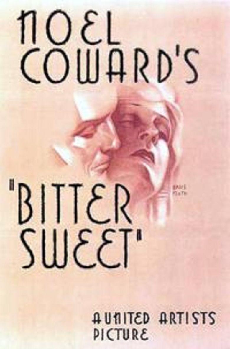Bitter Sweet (1933 film) movie poster