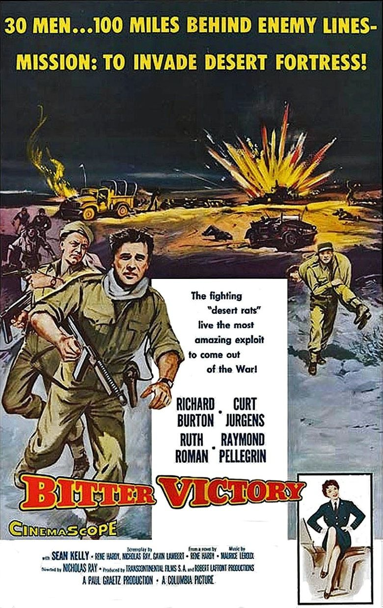 Bitter Victory movie poster