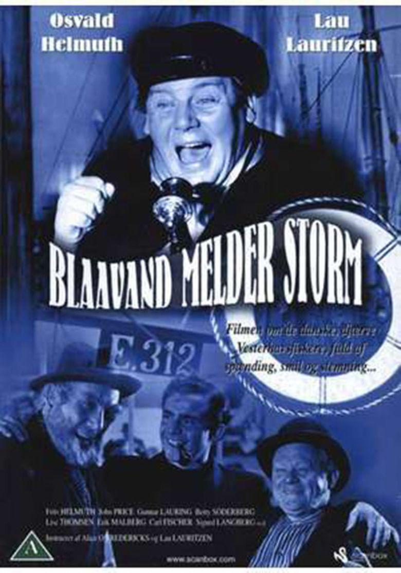 Blaavand melder storm movie poster