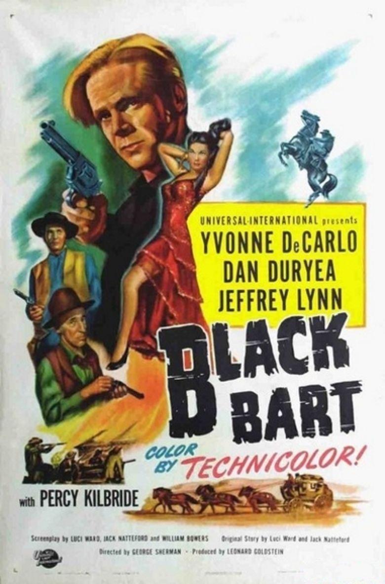 Black Bart (film) movie poster