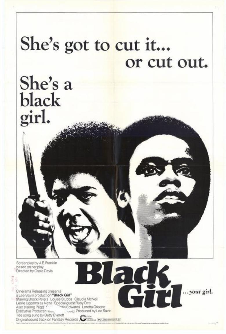 Black Girl (1972 film) movie poster